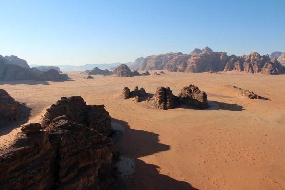 desierto rojo wadi rum